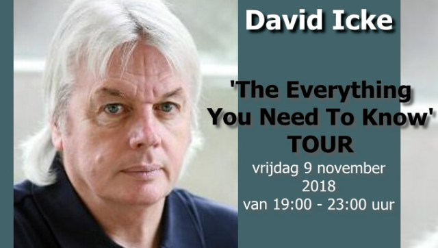 David Icke in Amsterdam
