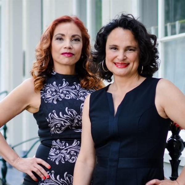 Carmen Kollmann en Mabel Houdtzagers